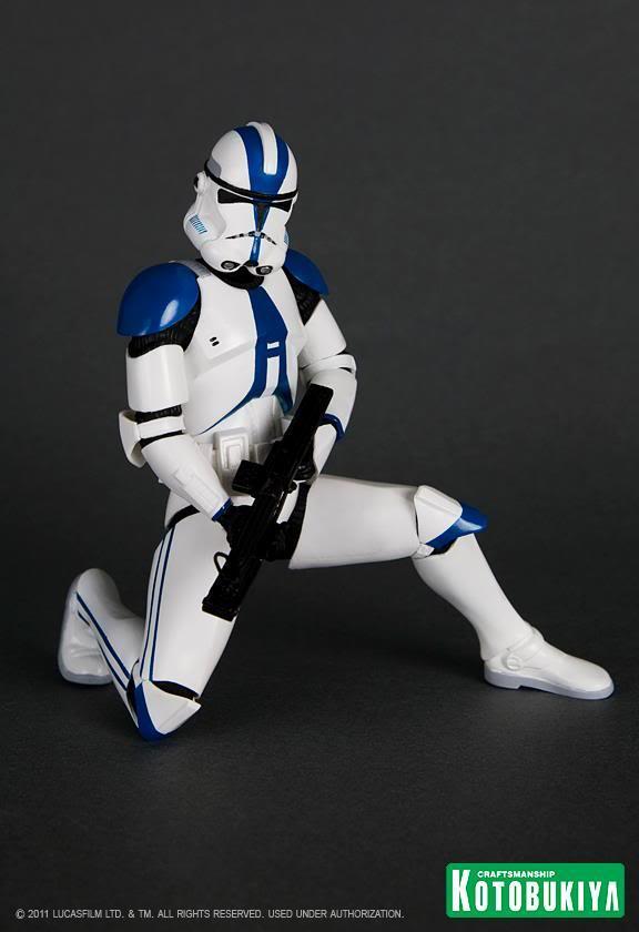 Kotobukiya - Imperial 501st Clone Trooper Two Pack ARTFX+ 32059510