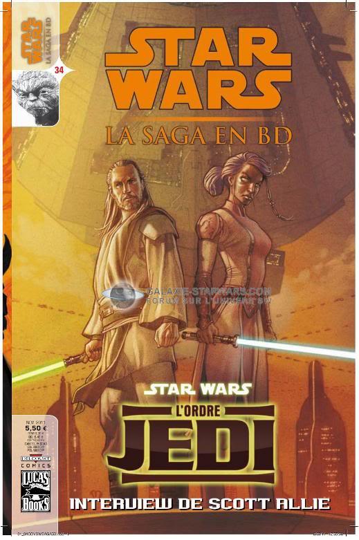STAR WARS- LA SAGA EN BD #34 - NOVEMBRE 2011  3410