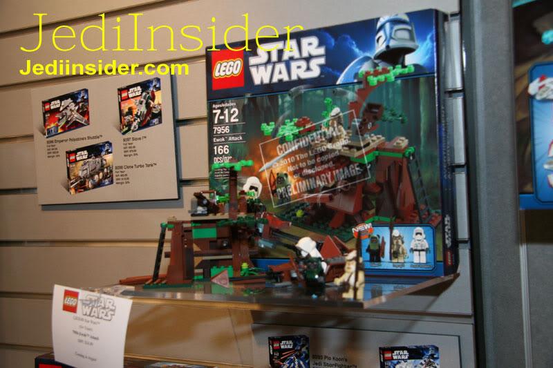 LEGO STAR WARS - 7956 - Ewok Attack 3514