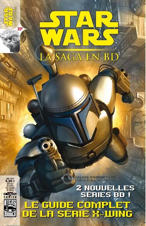 STAR WARS- LA SAGA EN BD #35 - JANVIER 2012   35b10