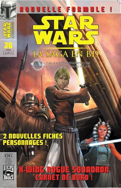 STAR WARS - LA SAGA EN BD #36 - MARS 2012 3610