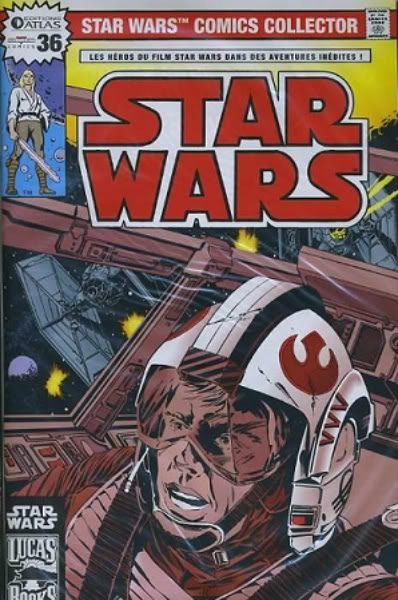EDITION ATLAS - STAR WARS COMICS COLLECTOR #21 - #40 3611