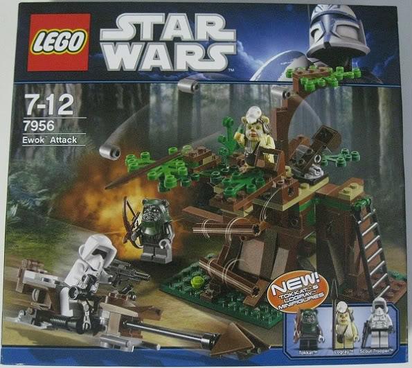 LEGO STAR WARS - 7956 - Ewok Attack 3615