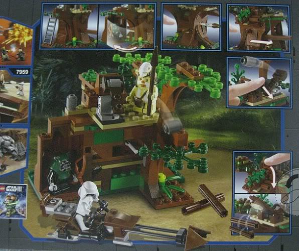 LEGO STAR WARS - 7956 - Ewok Attack 3713