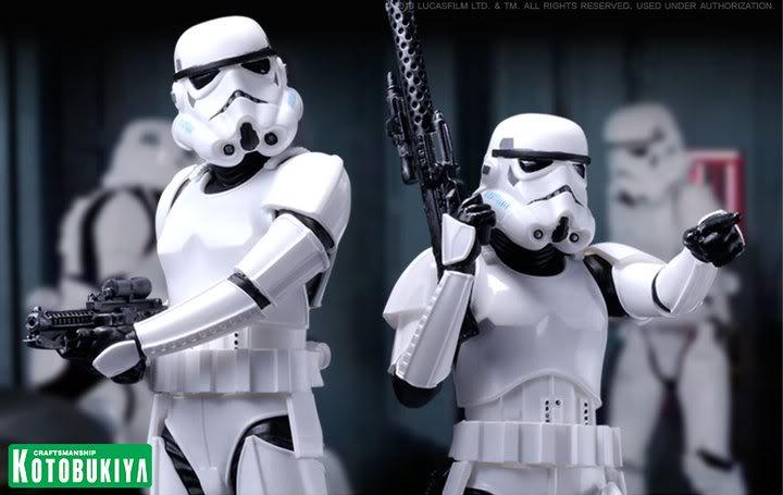 Kotobukiya Stormtrooper ArtFX + 37169e10