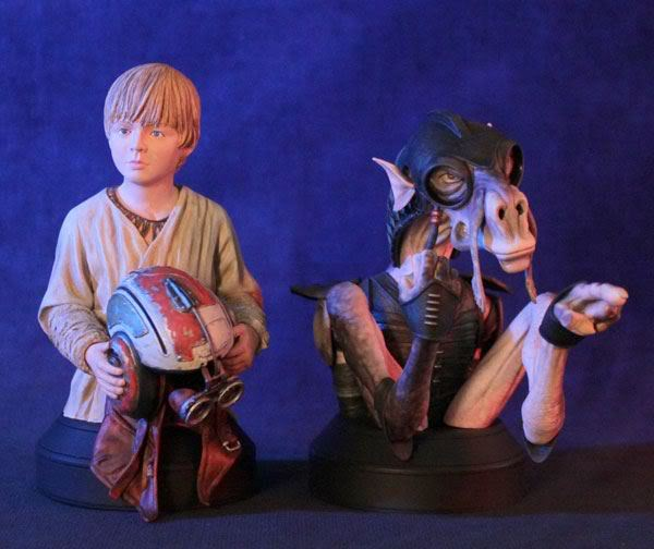 Gentle Giant - Sebulba and Anakin 2-pack Mini Busts  - Page 2 37389510