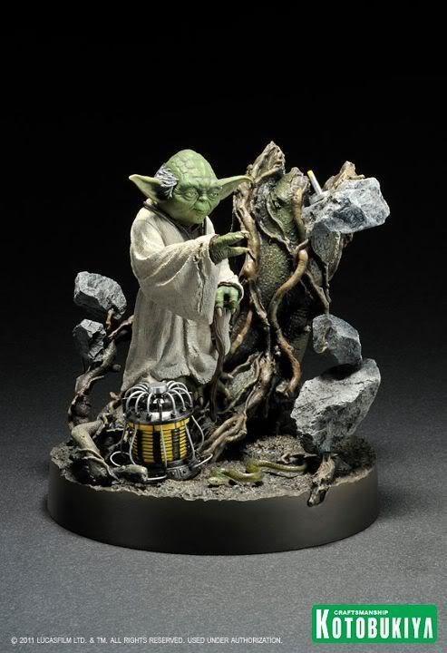Kotobukiya - Yoda on Dagobah - ARTFX 37745410