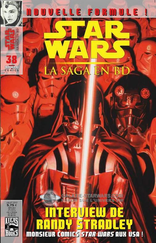 STAR WARS - LA SAGA EN BD #38 - JUILLET 2012 3810