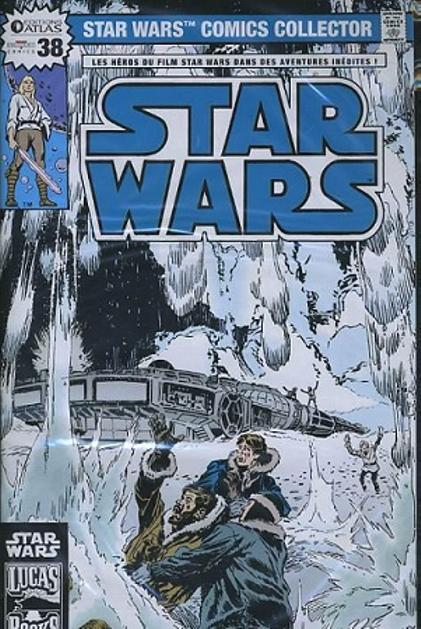 EDITION ATLAS - STAR WARS COMICS COLLECTOR #21 - #40 3811
