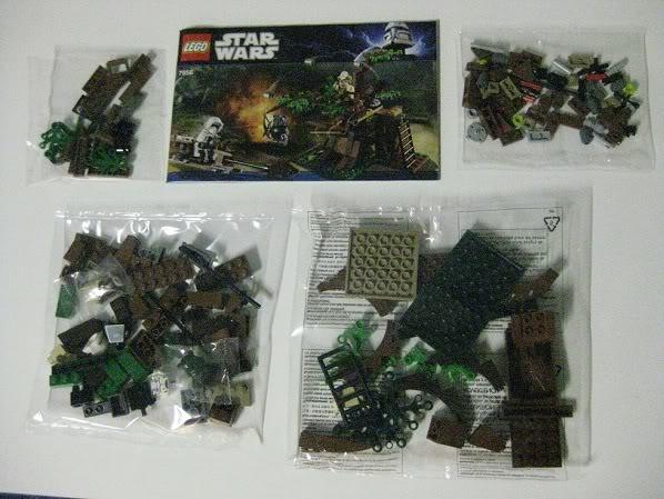 LEGO STAR WARS - 7956 - Ewok Attack 3813