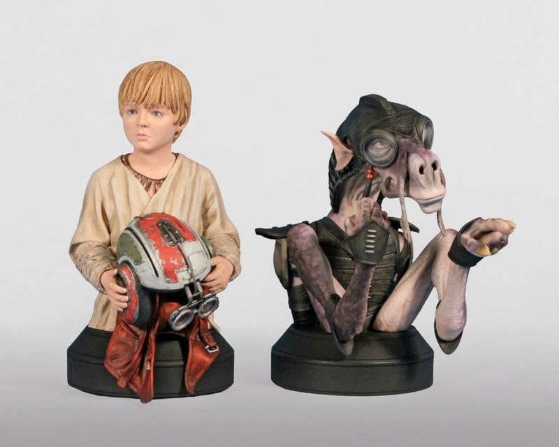 Gentle Giant - Sebulba and Anakin 2-pack Mini Busts  - Page 2 38158310