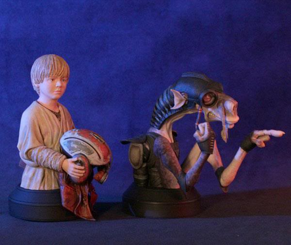 Gentle Giant - Sebulba and Anakin 2-pack Mini Busts  - Page 2 38366610