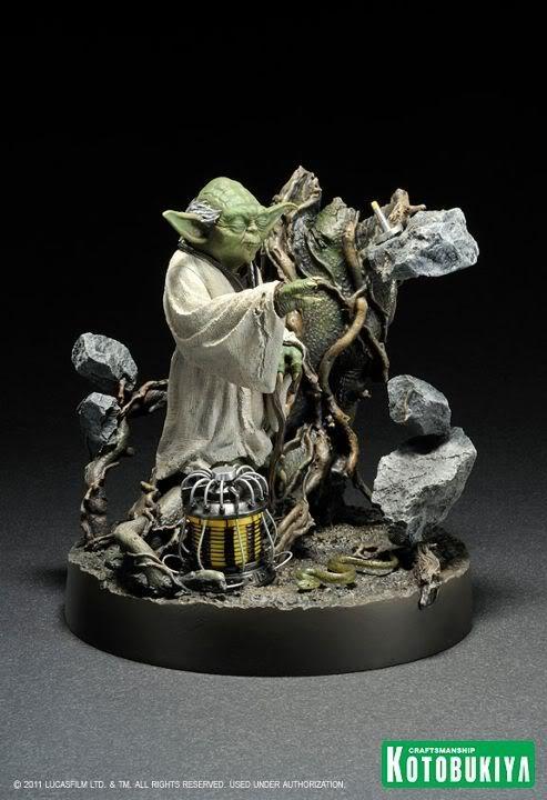 Kotobukiya - Yoda on Dagobah - ARTFX 38717610