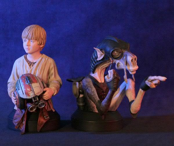 Gentle Giant - Sebulba and Anakin 2-pack Mini Busts  - Page 2 38915810