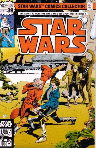 EDITION ATLAS - STAR WARS COMICS COLLECTOR #21 - #40 3911