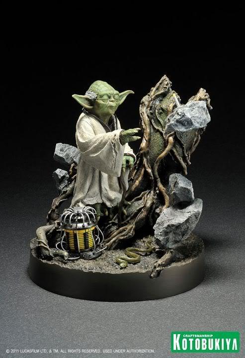 Kotobukiya - Yoda on Dagobah - ARTFX 39117110