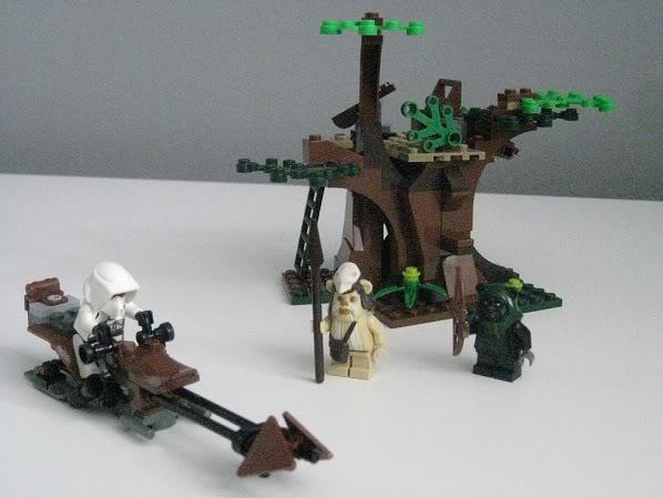 LEGO STAR WARS - 7956 - Ewok Attack 3913