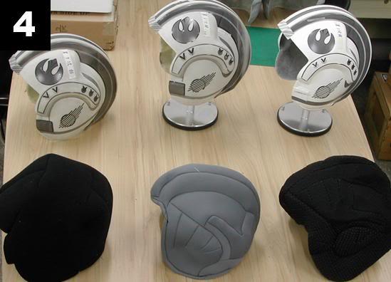 Efx - Luke Skywalker X-Wing Starfighter helmet 4-111