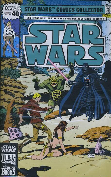 EDITION ATLAS - STAR WARS COMICS COLLECTOR #21 - #40 4011