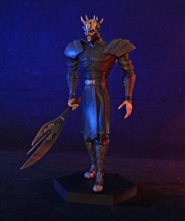 Gentle Giant - CW  Savage Oppress Animated Maquette 4213