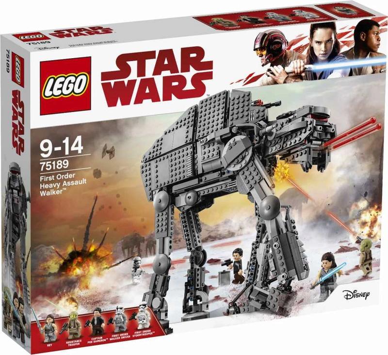LEGO STAR WARS - 75189 - First Order Heavy Walker 43-gip10