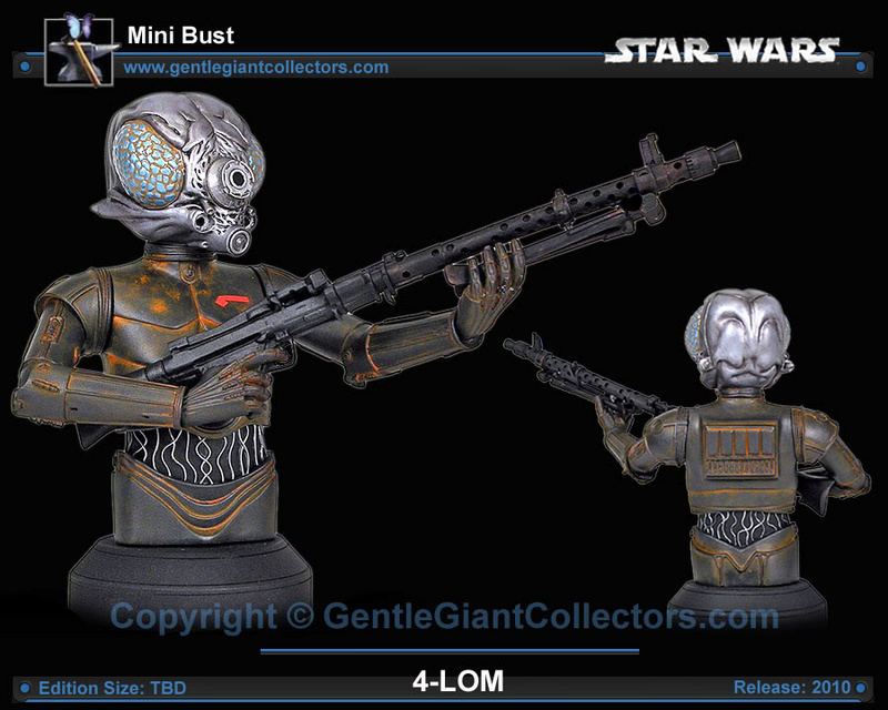 Gentle Giant - 4-LOM Mini-Bust 4lomgg14