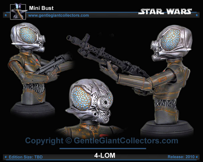 Gentle Giant - 4-LOM Mini-Bust 4lomgg15