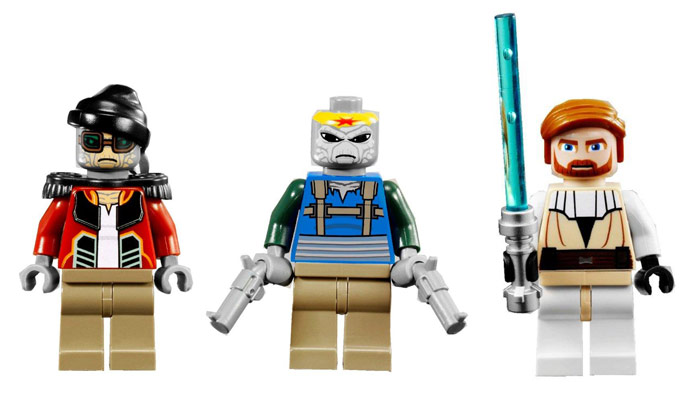 LEGO STAR WARS - 7753 PIRATE TANK 511