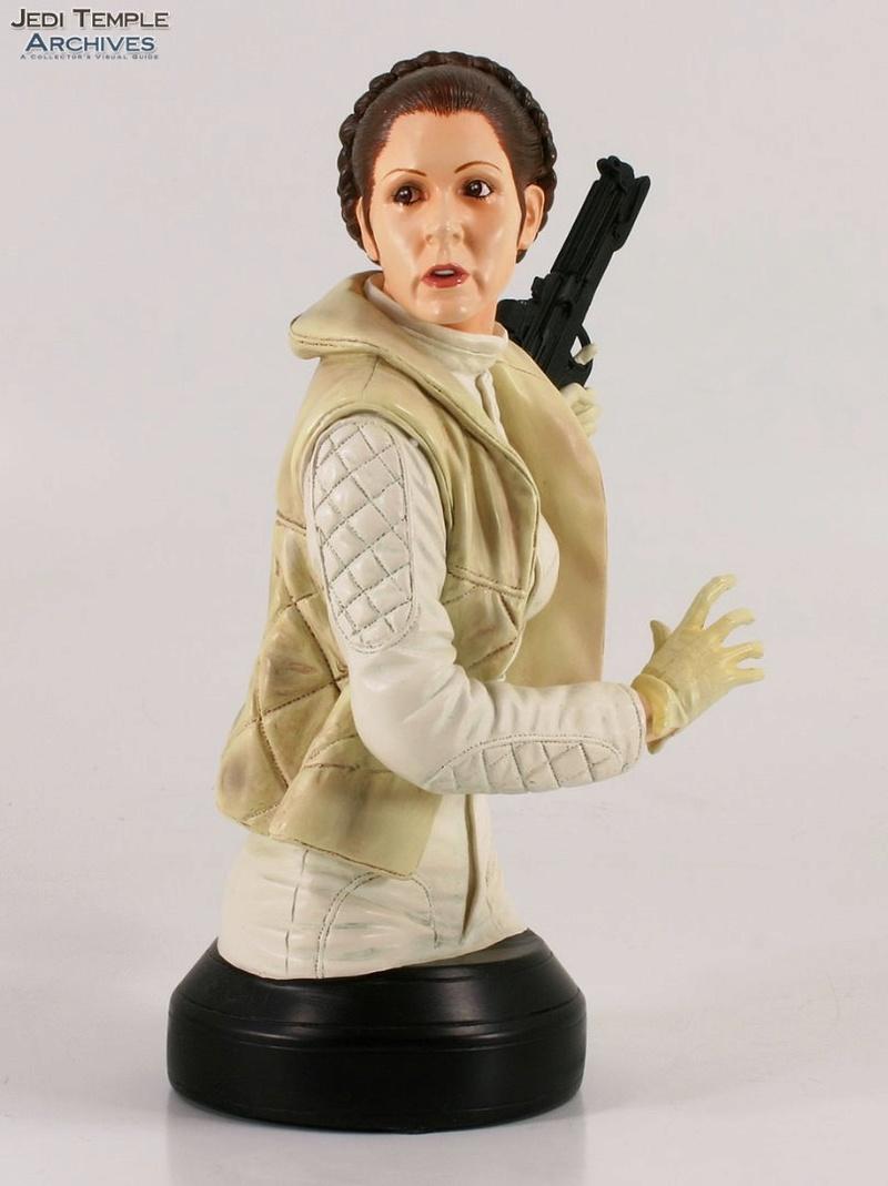 Gentle Giant -Han solo, Luke Skywalker & Leia Hoth mini-bust 52889010