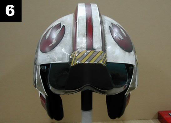 Efx - Luke Skywalker X-Wing Starfighter helmet 6-111
