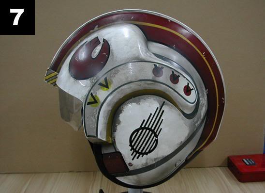 Efx - Luke Skywalker X-Wing Starfighter helmet 714