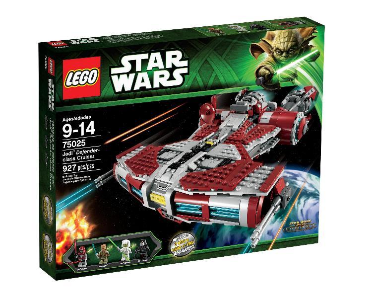 LEGO STAR WARS - 75025 - Jedi Defender Class Cruiser 75025j15