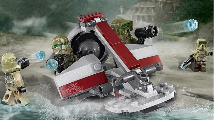 LEGO STAR WARS - 75035 - Kashyyyk Troopers  75035010