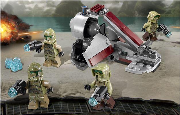 LEGO STAR WARS - 75035 - Kashyyyk Troopers  75035012