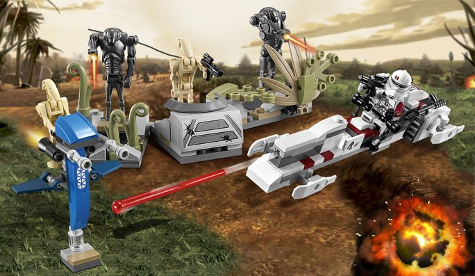 LEGO STAR WARS - 75037 - Battle on Saleucami 75037010