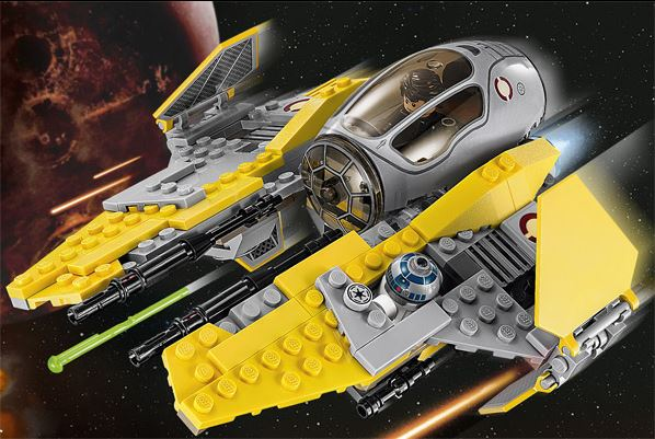 LEGO STAR WARS - 75038 - Jedi Interceptor 75038012