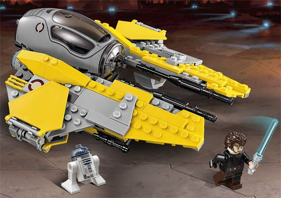 LEGO STAR WARS - 75038 - Jedi Interceptor 75038014