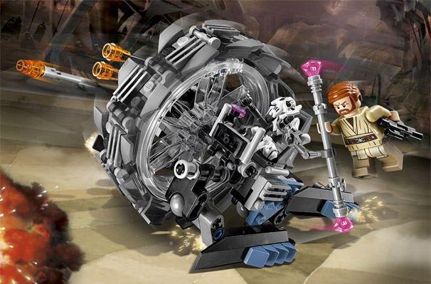 LEGO STAR WARS - 75040 - General Grievous Wheel Bike. 75040011