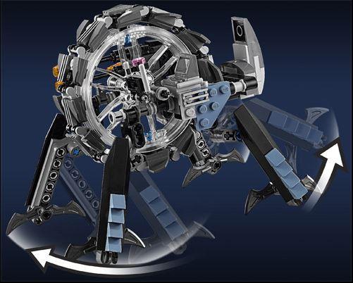 LEGO STAR WARS - 75040 - General Grievous Wheel Bike. 75040012