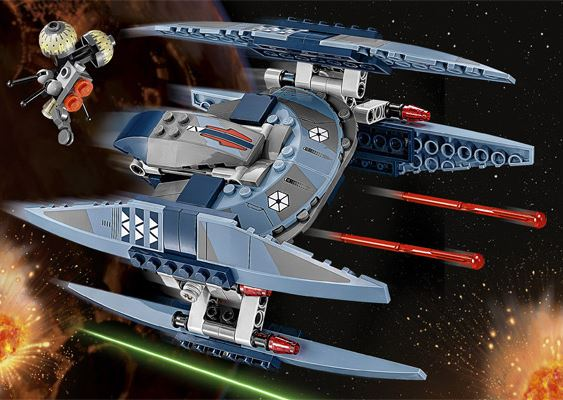LEGO STAR WARS - 75041 - Vulture Droid 75041010