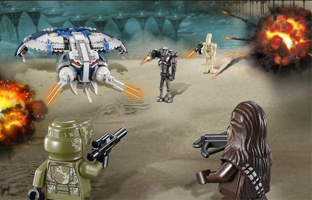LEGO STAR WARS - 75042 - Droid Gunship  75042010