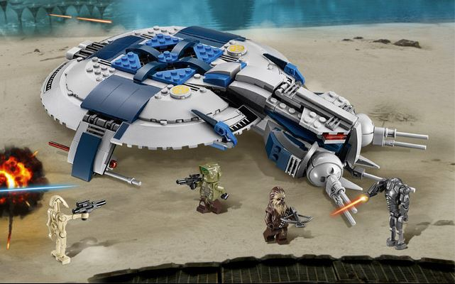 LEGO STAR WARS - 75042 - Droid Gunship  75042012