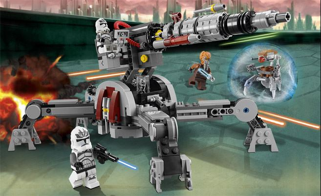 LEGO STAR WARS - 75045 - REPUBLIC AV-7 ANTI-VEHICULE CANNON 75045010