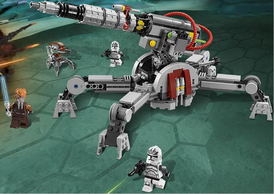 LEGO STAR WARS - 75045 - REPUBLIC AV-7 ANTI-VEHICULE CANNON 75045012
