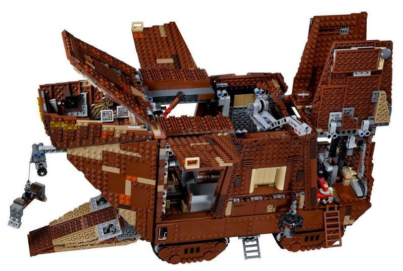 LEGO STAR WARS - 75059 - SandCrawler UCS 75059s16