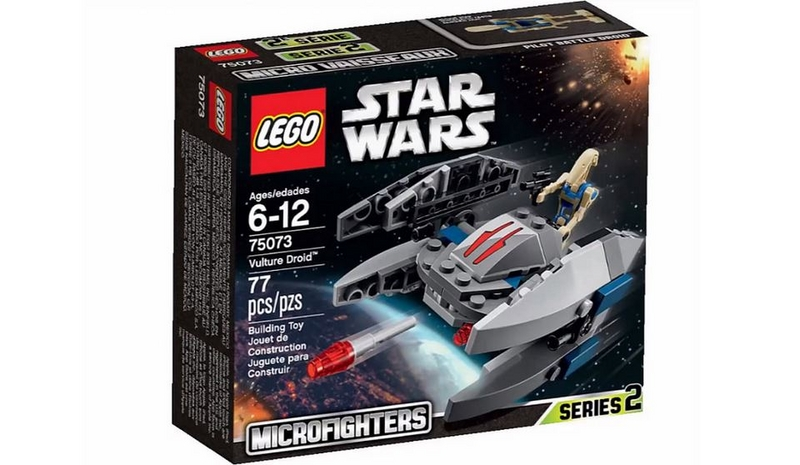 LEGO STAR WARS MICROFIGHTERS - 75073 - Vulture Droid 75073014