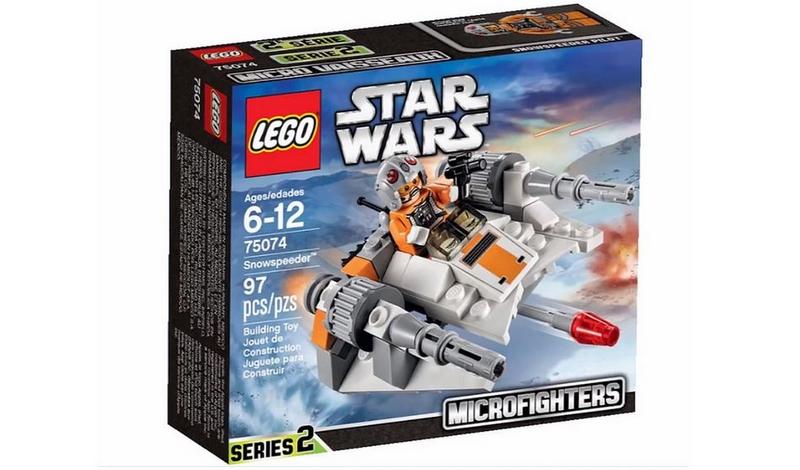 LEGO STAR WARS MICROFIGHTERS - 75074 - Snowspeeder 75074010