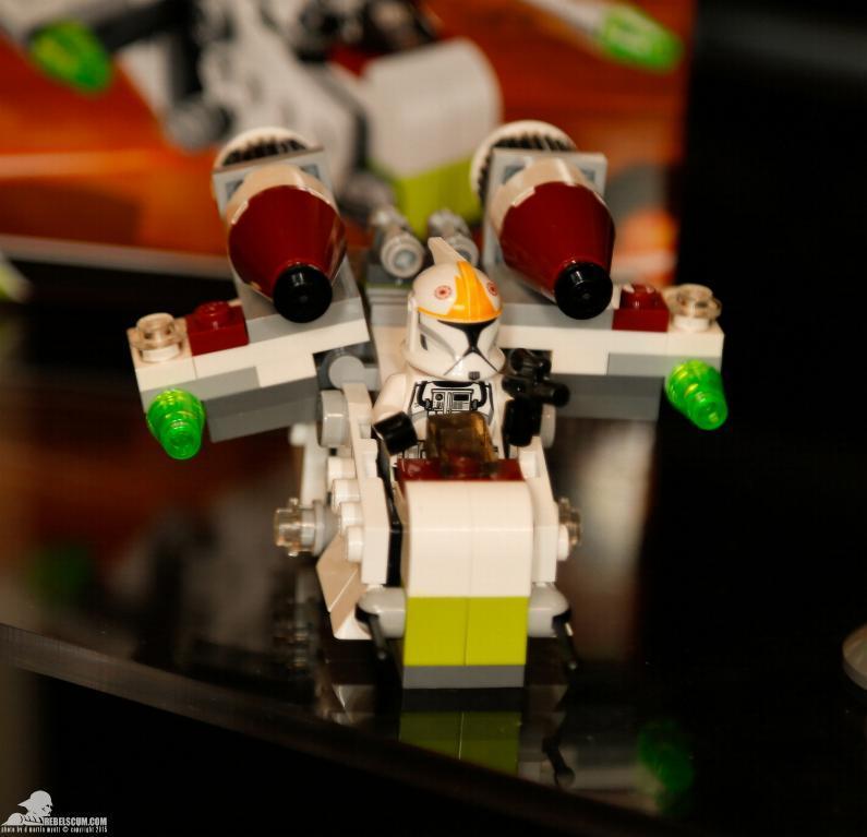 LEGO STAR WARS MICROFIGHTERS - 75076 - Republic Gunship 75076011
