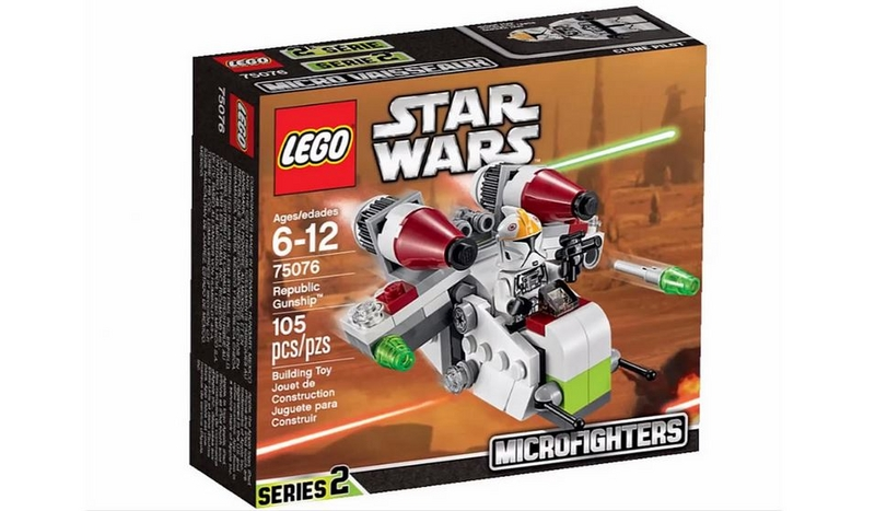 LEGO STAR WARS MICROFIGHTERS - 75076 - Republic Gunship 75076012