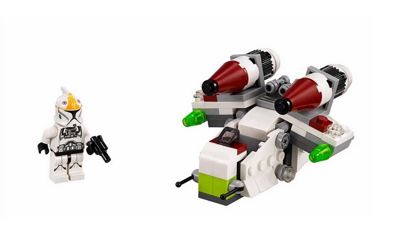 LEGO STAR WARS MICROFIGHTERS - 75076 - Republic Gunship 75076013